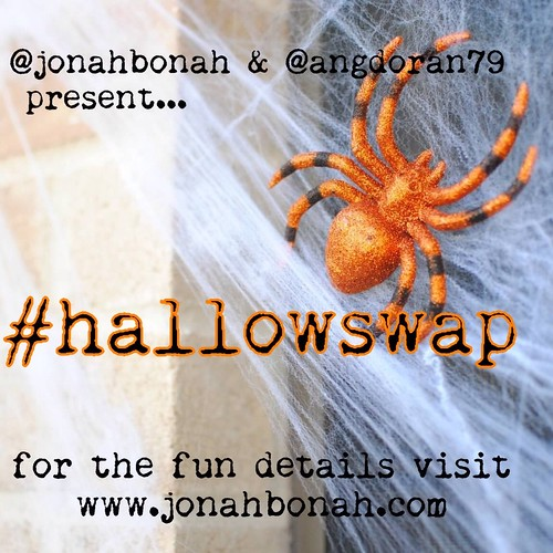 Join @angdoran79 and myself for a Halloween swap! Deets on jonahbonah.com.