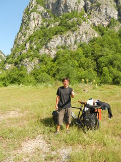 Ryo from Japan recovered his bike after is was being stolen in Belgrade