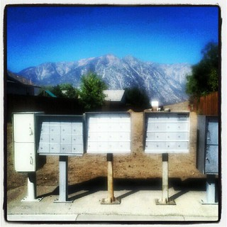 (Day 4: mailbox) Postbox with a view. #FMSphotoaday #photoadayseptember