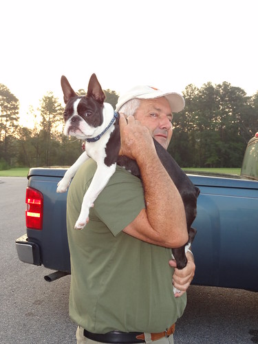 Charlie and Grandpa at dropoff August 2012 (1)