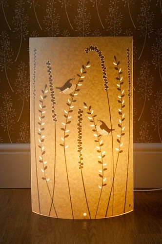 Paper Cut Floor Lamp