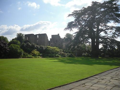 old Hardwick Hall from garden