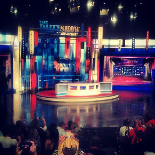 Daily Show stage
