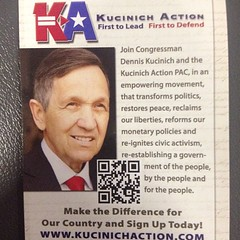 Kucinich's new career #sundnc #dnc2012