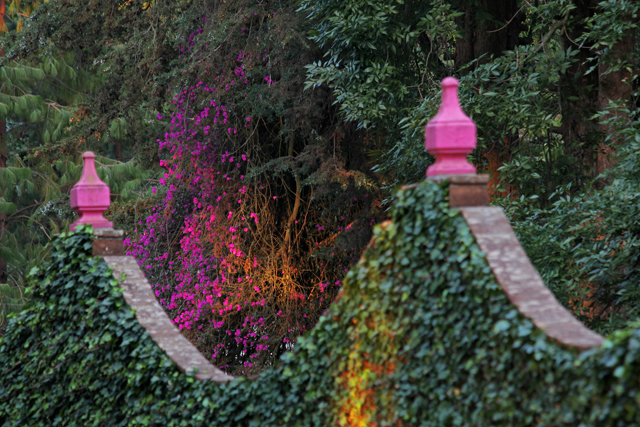 Pink Finials