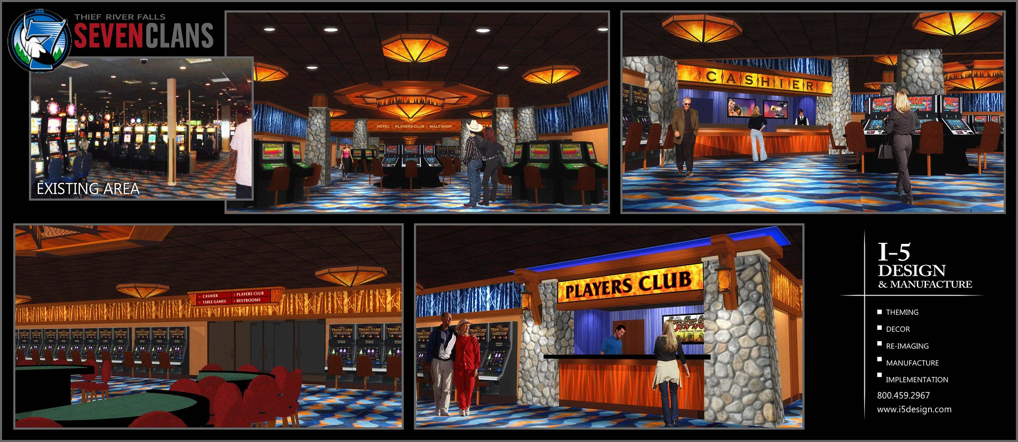 Casino renovation