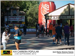 XIX CARRERA POPULAR VILLA DE MADRIDEJOS 2012