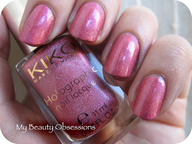 Kiko Holo 402 Jewel Pink