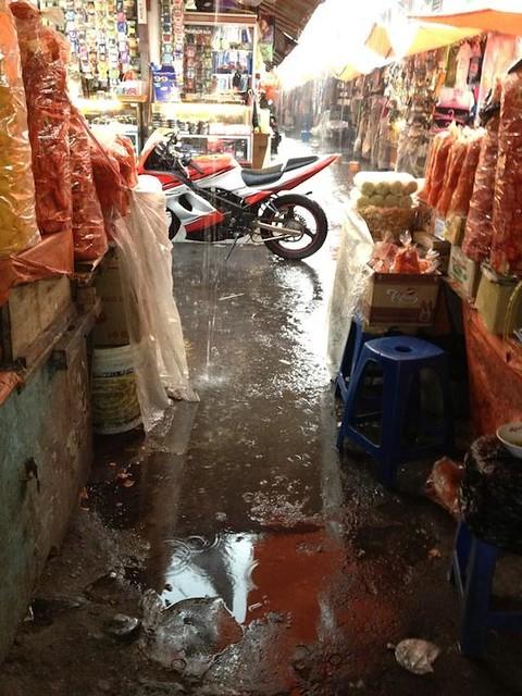 Rainy Bukittinggi Market