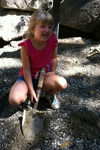 Digging for fossils at the NC Museum of Life and Science