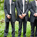 Friendly groomsmen