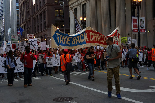 Chicago teachers demanding improvements to working conditions