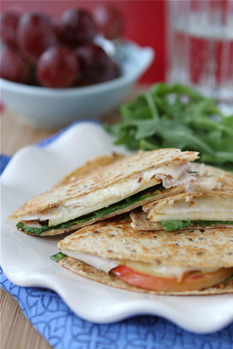 Quesadilla Recipe with Smoked Turkey, Apples, Havarti ...