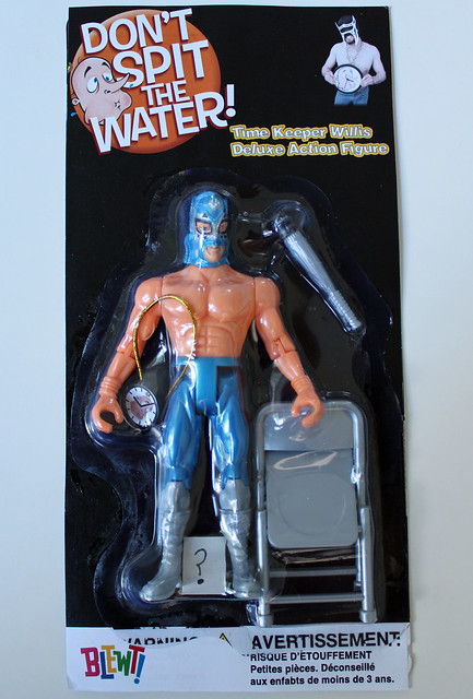 Time Keeper Willis Deluxe Action Figure - front