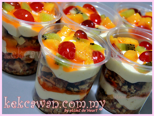Tutty Fruity Cream Dessert