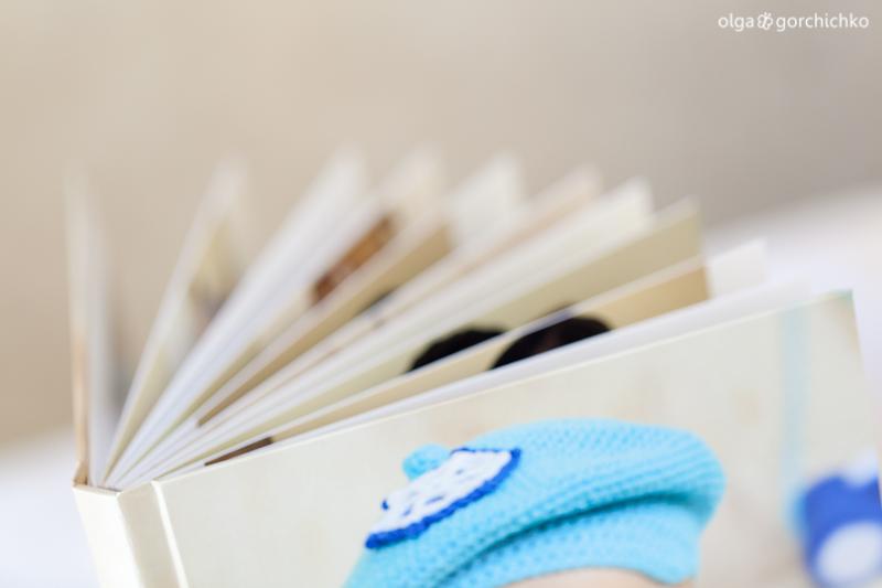 Минибук и конверт для Никиты
