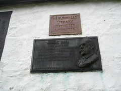 Photo of Black plaque number 11499