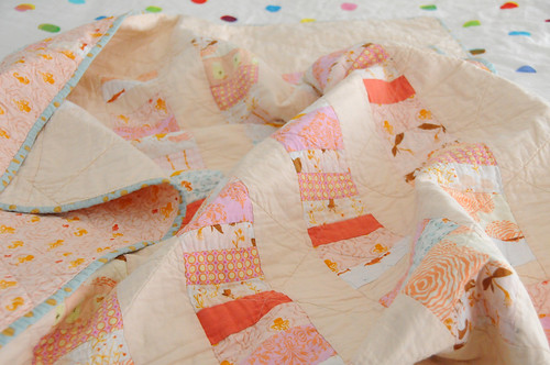 stacked coins mermaid quilt