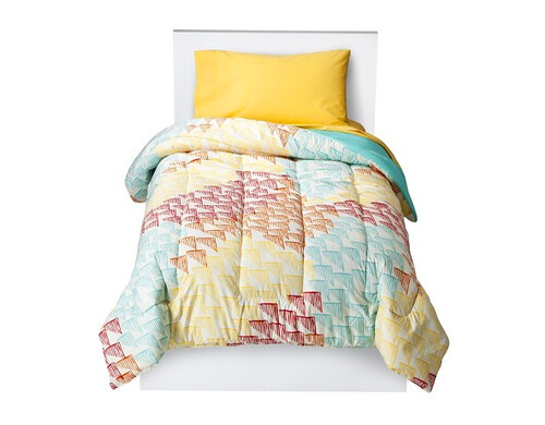 Multi Triangles Comforter from Target