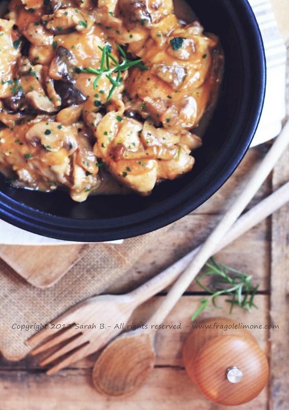 004 pollo ai funghi