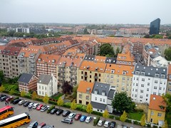 View from the top of the art museum, Aarhus, Denmark
