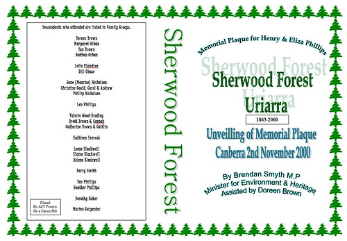 Sherwood Forest 1863-2000