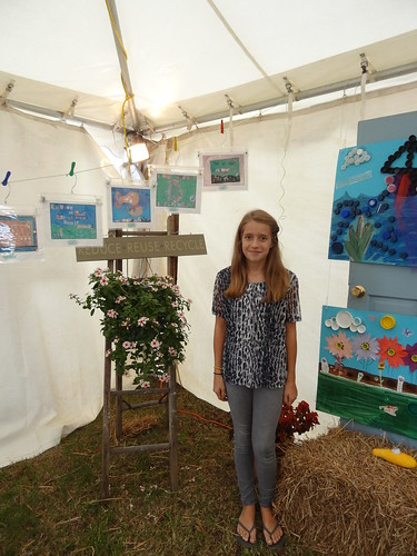 Kids recycled art fair 2012