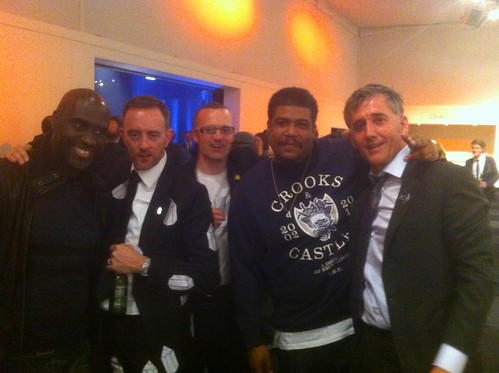 Me, 2 x D&AD Presidents and De La Soul
