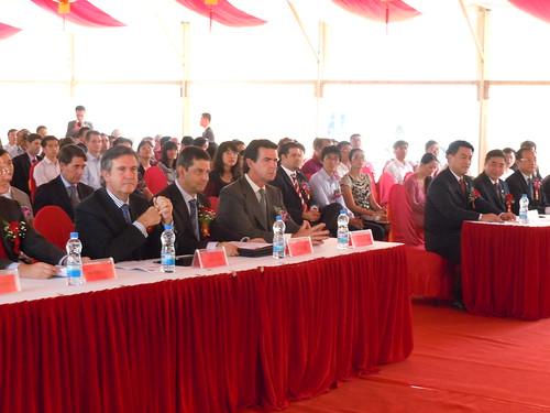Inauguración de Cikautxo y Fagor Ederlan en China