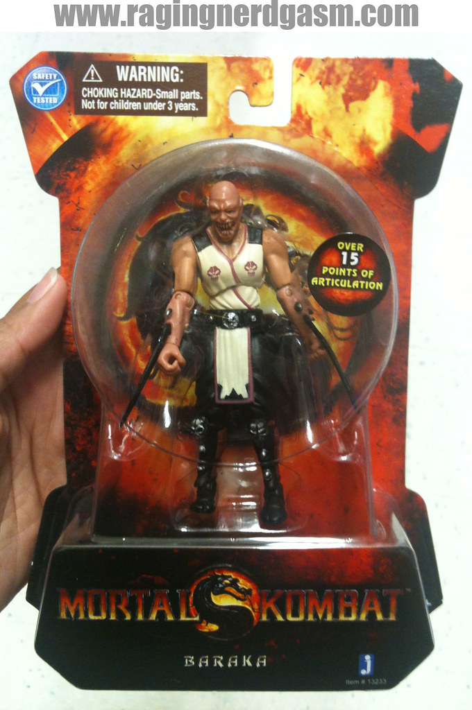 Mortal Kombat Action figures by Jazwares Baraka 001