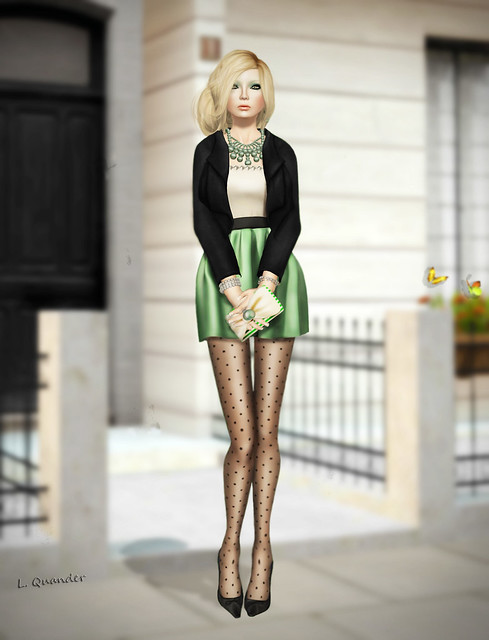 C88 Sept -Glam Affair- Suri Dress - Garden