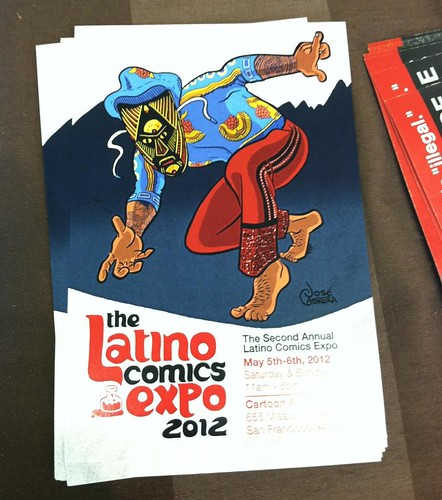 Latino Comic Expo flyer