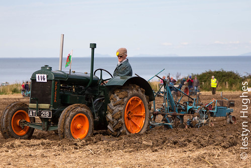 All Wales and Five Nations Ploughing Championships held at Llanon, Wales, UK
