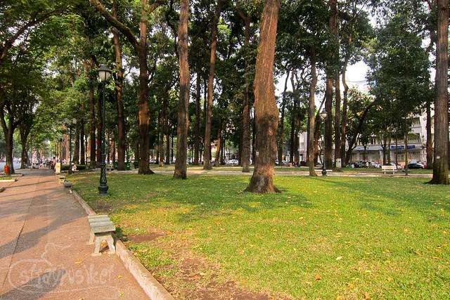 Park at Ho Chi Minh