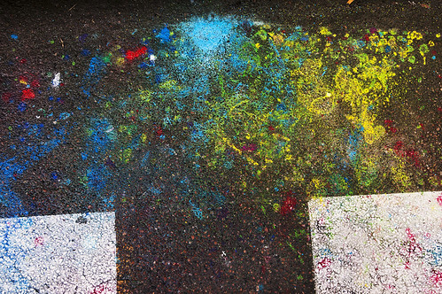 Paint On Pavement