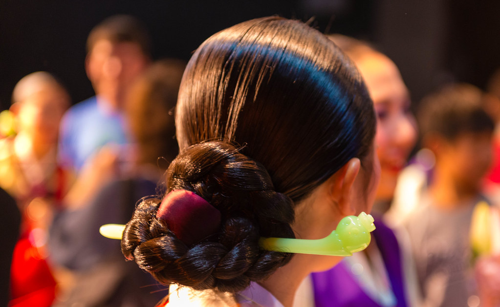 Hair Style For Traditional Korean Dance Cloudepherd Flickr