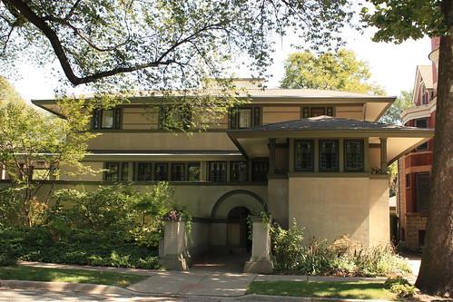 Frank Thomas House by Frank Lloyd Wright - Oak Park - Chicago