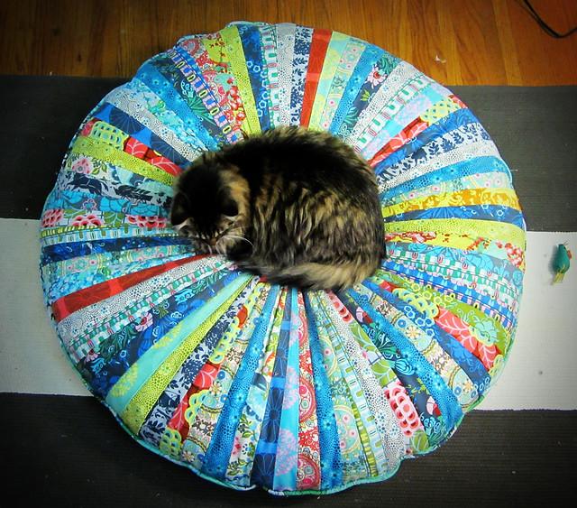 Jelly Roll Floor Pillow Flickr Photo Sharing