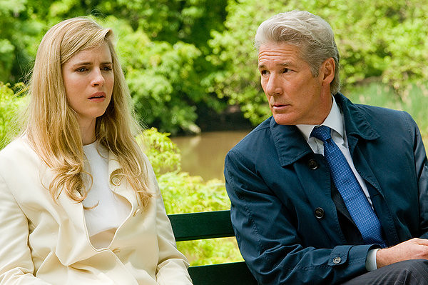 Brit Marling and Richard Gere discuss the surprising details of ARBITRAGE.