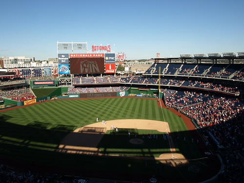 Shadows and a Nats win