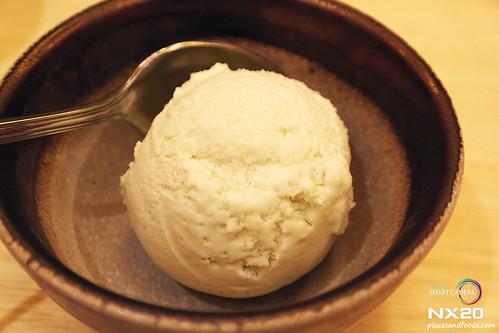 miraku wasabi ice cream