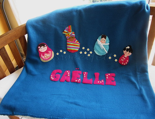 ♥♥♥ Gaëlle... by sweetfelt \ ideias em feltro