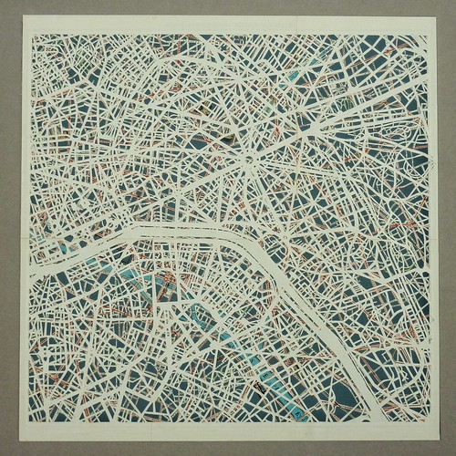 Plan de Paris by emmaporium