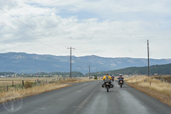 Approaching Cascade, Idaho