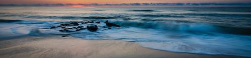 ocean sky panorama color beach water clouds sunrise canon newjersey nj atlantic lbi jerseyshore hdr treyspresets