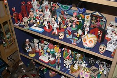 Day Of The Dead Statues