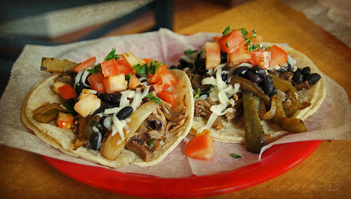 Tacos from Corazon Cafe