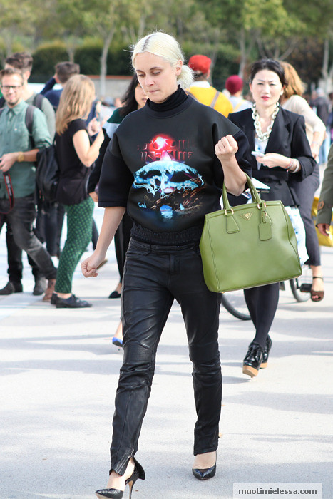 paris fashion week balenciaga sweater