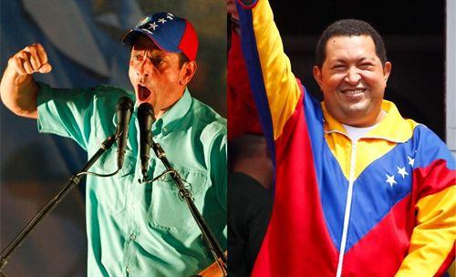 Chavez versus Capriles