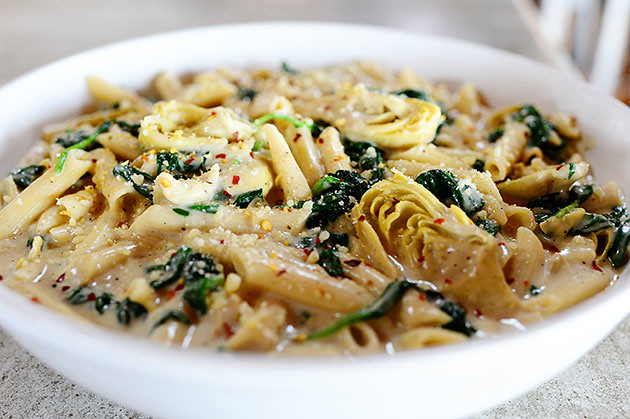 Spinach Artichoke Pasta | The Pioneer Woman Cooks | Ree Drummond